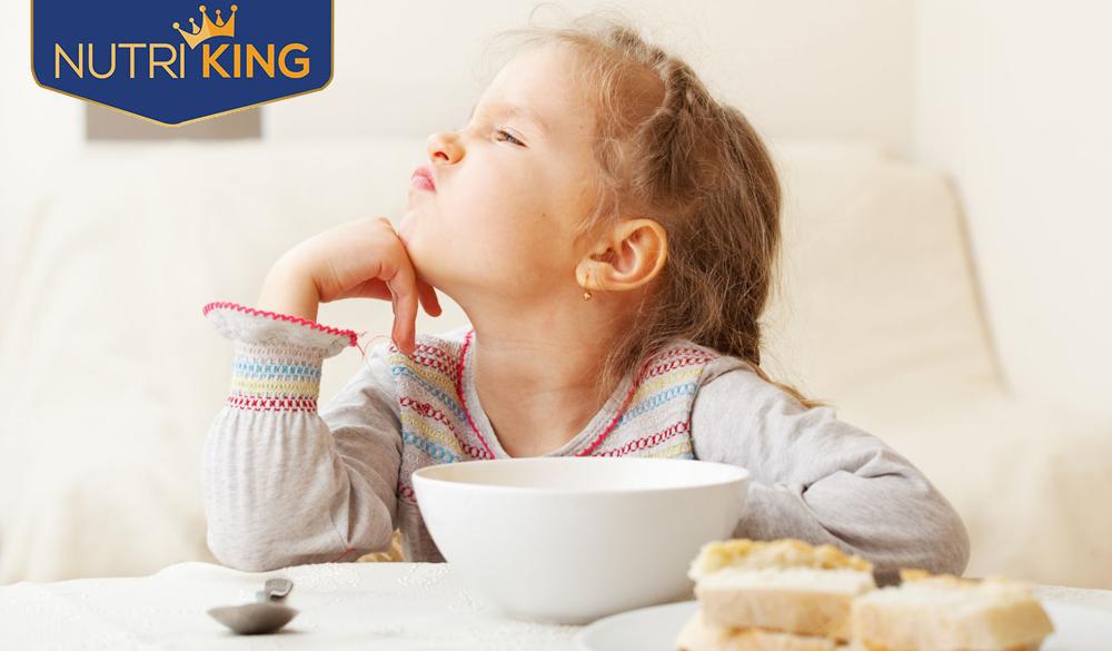 Làm thế nào để trẻ hết biếng ăn và tăng cân nhanh?