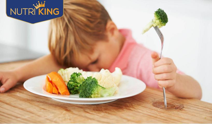 Nguyên nhân khiến bé biếng ăn chậm tăng cân và cách khắc phục